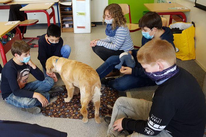 Besuch von Lika in Klasse 6a