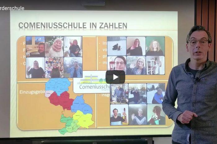 """Virtueller """"Tag der offenen Tür"""" – Videos der Comeniusschule"""